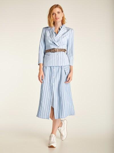 heine Sukienka koszulowa w kolorze jasnoniebieskim: Widok z przodu