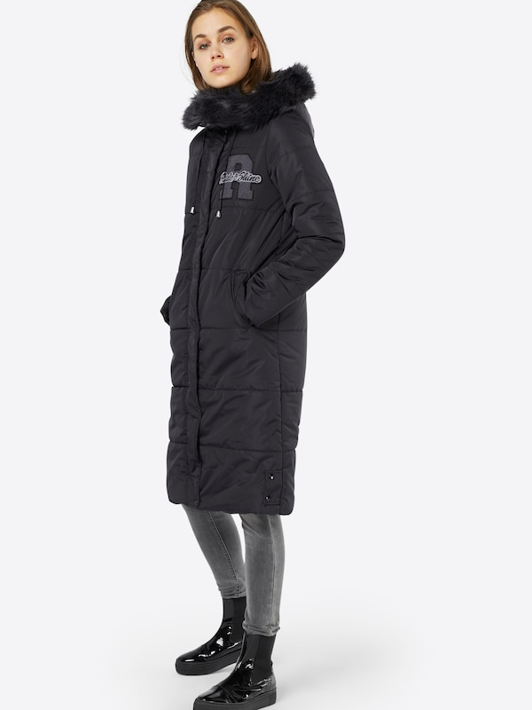 review winter parka in schwarz about you. Black Bedroom Furniture Sets. Home Design Ideas