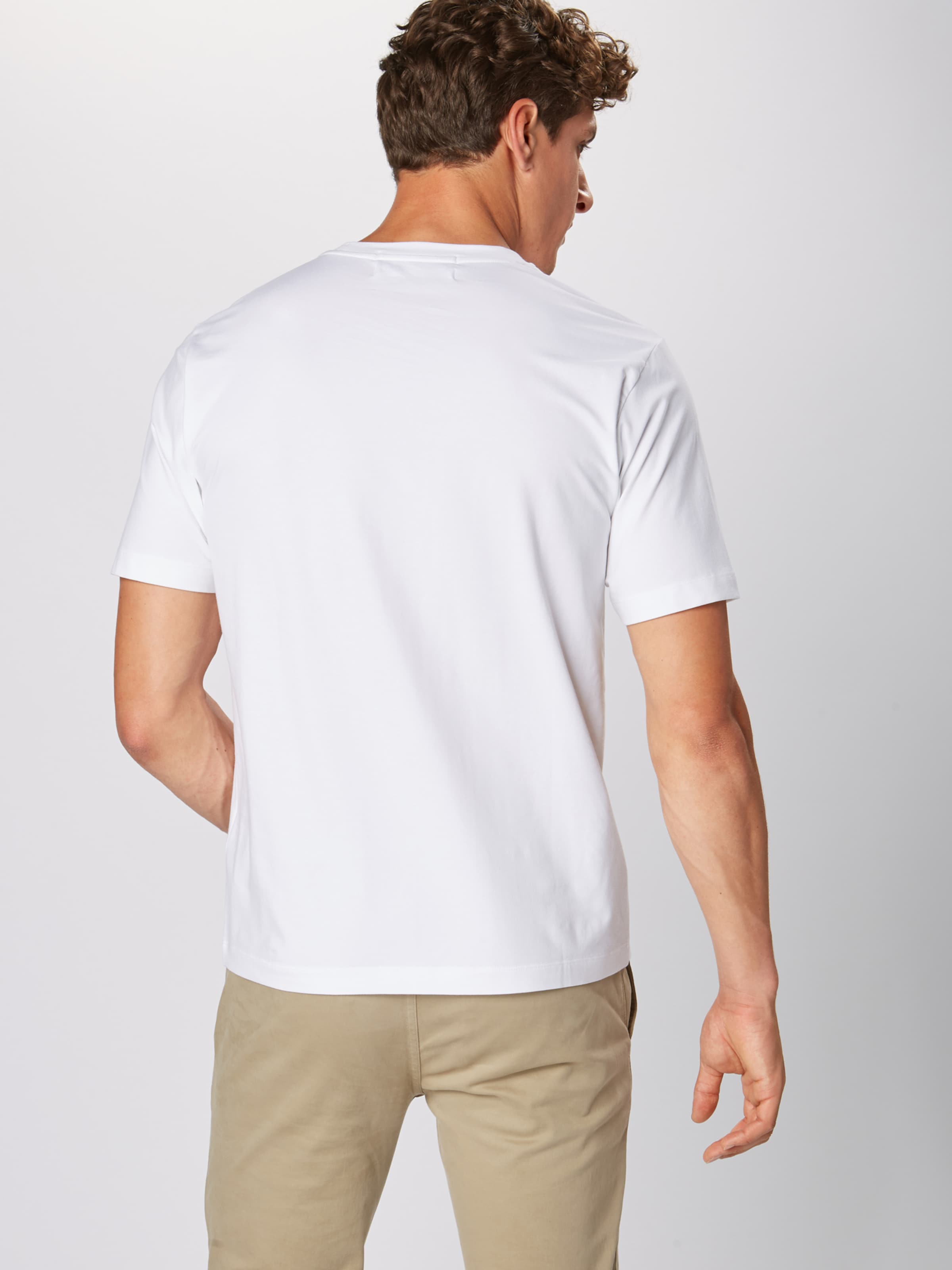 Calvin Jeans Weiß shirt T Klein In 0wOmvnN8