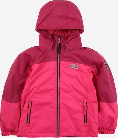 LEGO WEAR Jacke in pink / dunkelpink, Produktansicht
