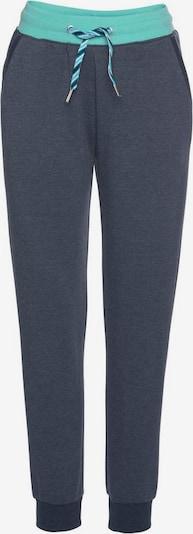 Pantaloni s.Oliver pe turcoaz / albastru închis, Vizualizare produs