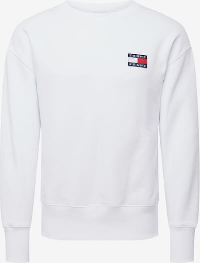 Tommy Jeans Sweat-shirt en blanc: Vue de face