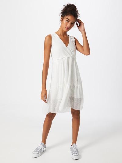 Rochie 'Belina' Hailys pe offwhite, Vizualizare model