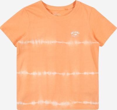 NAME IT Shirt 'NMMVANO SS TOP J' in orange / weiß, Produktansicht