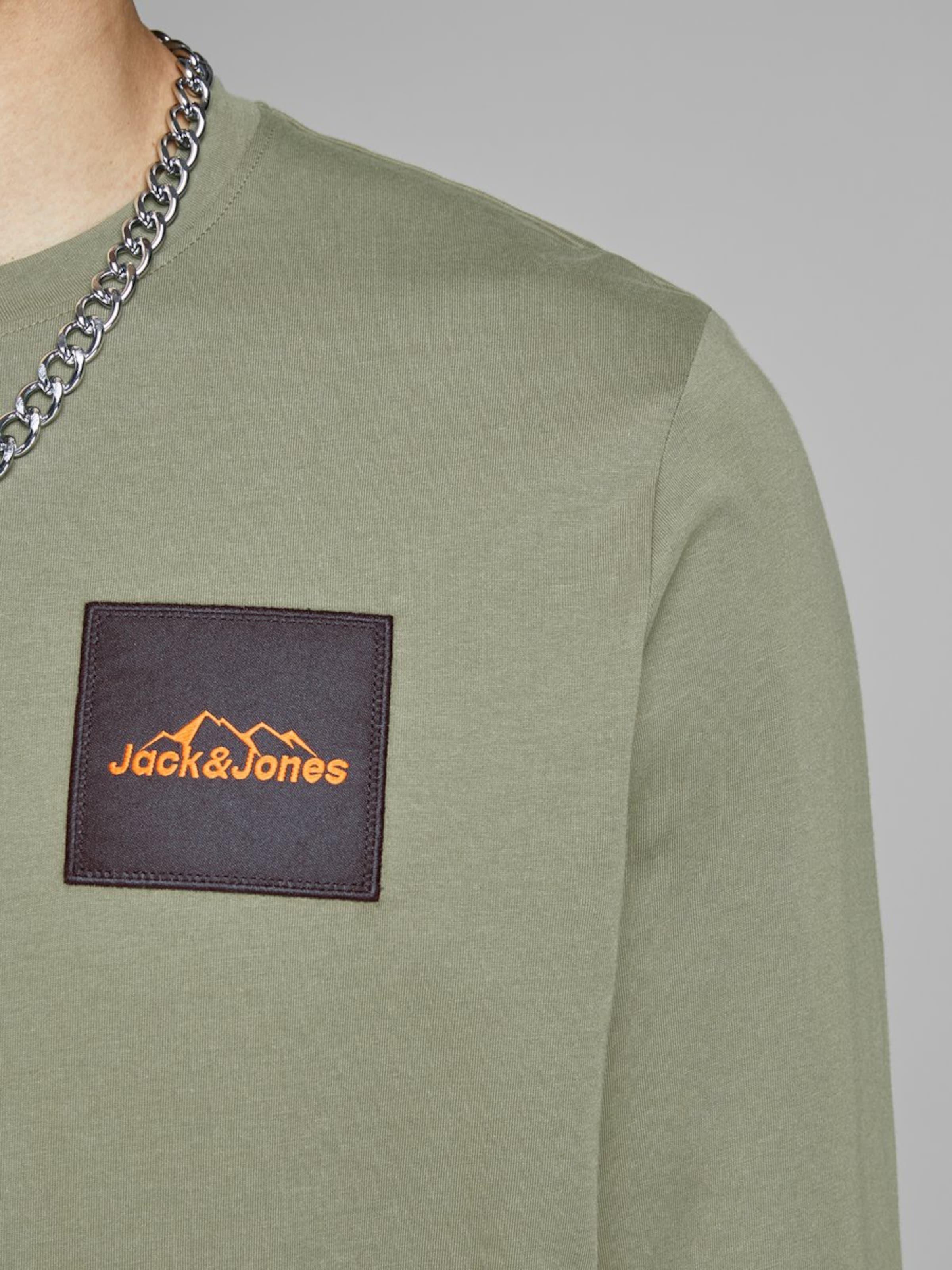 Jackamp; Longsleeve Jones Jones Oliv Jackamp; Longsleeve In Oliv In eDEIWH2Y9