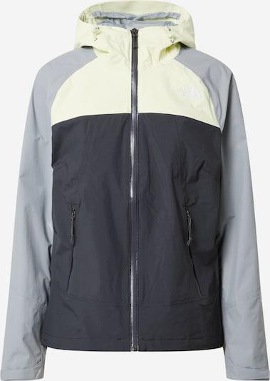 THE NORTH FACE Športna jakna 'STRATOS' | svetlo siva / temno siva / bela barva, Prikaz izdelka