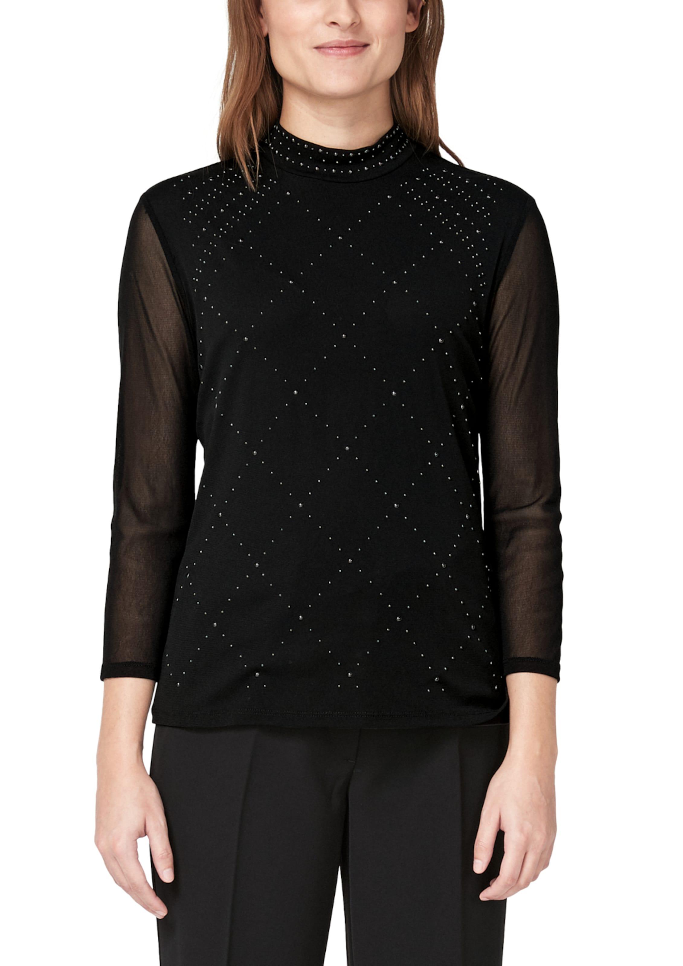 Schwarz Shirt oliver In Black Label S L4q5A3Rj