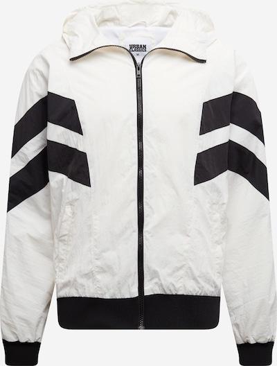 Urban Classics Jacke in schwarz / weiß, Produktansicht