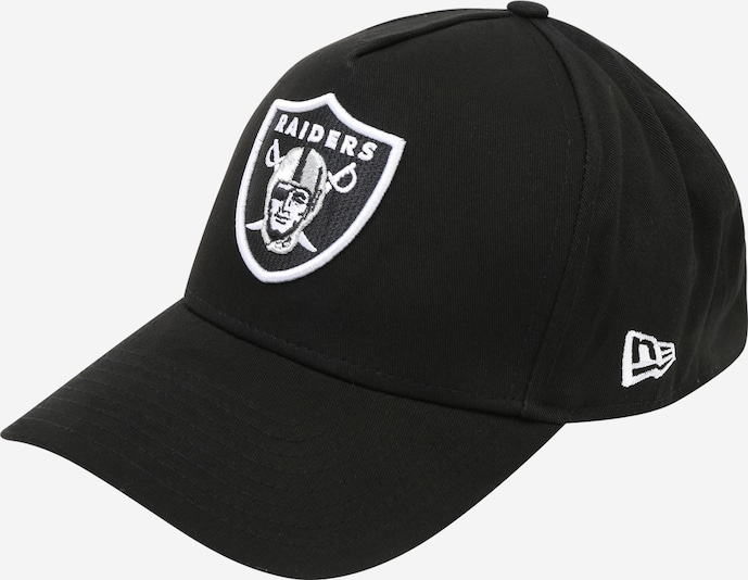 NEW ERA Pet 'NFL A-FRAME' in de kleur Zwart / Wit, Productweergave