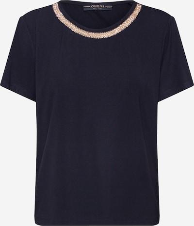 GUESS Shirt 'LEANNA' in gold / schwarz, Produktansicht