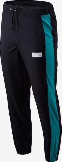 new balance Pantalon de sport 'MP91507' en jade / noir, Vue avec produit