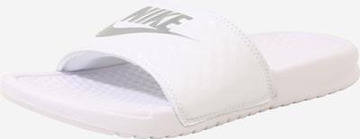 Nike Sportswear Mule 'Benassi Just Do It' en blanc, Vue avec produit