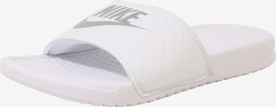 Nike Sportswear Mule 'Benassi Just Do It' en blanc, Vue avec produit