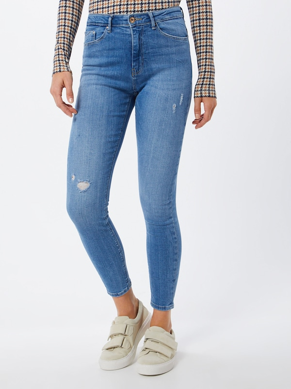 ONLY Jeans 'PAOLA' in blue denim, Modelansicht
