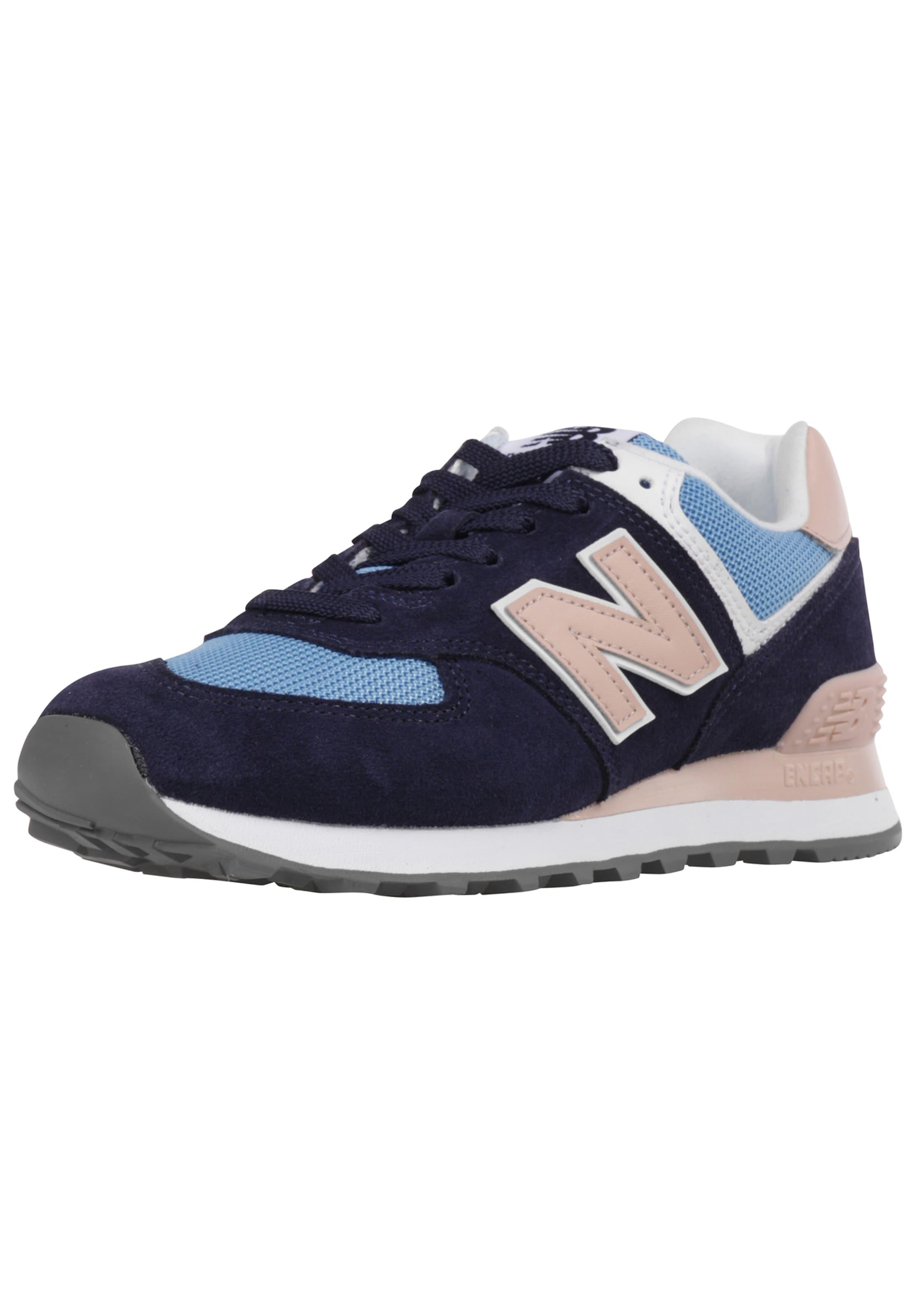 New In Wl574 Sneaker NavyHellblau Rosa Balance 6gby7f