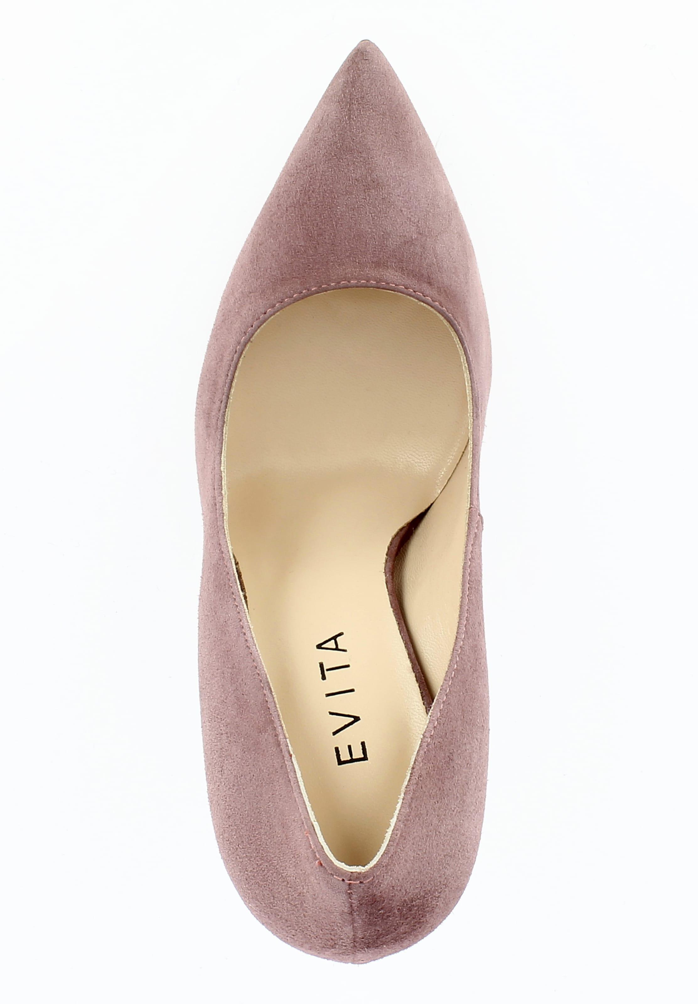 Rouge Evita Escarpins Escarpins Evita En 1clKTJF