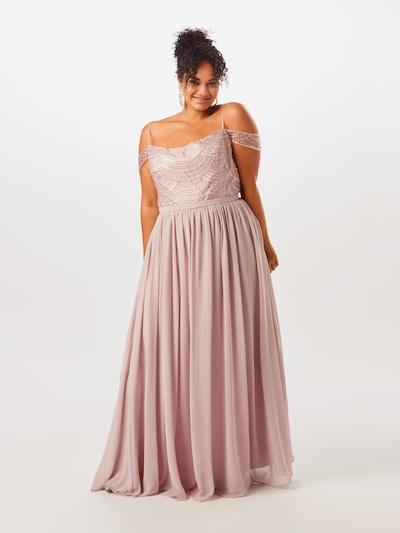 My Mascara Curves Sukienka 'Lined Sequin' w kolorze liliowym: Widok z przodu