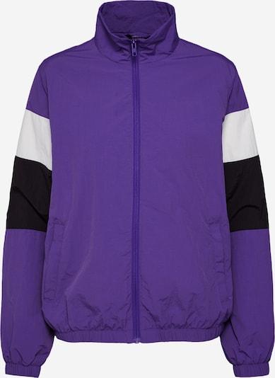 Urban Classics Jacke in lila / schwarz / weiß, Produktansicht