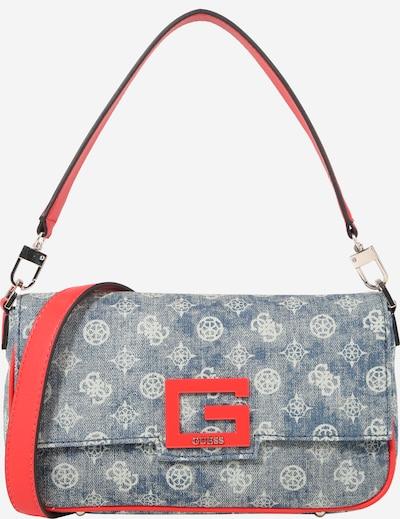 GUESS Tasche 'BRIGHTSIDE' in blue denim / rot, Produktansicht