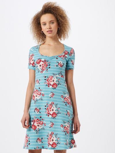 Blutsgeschwister Kleid in blau / mischfarben, Modelansicht