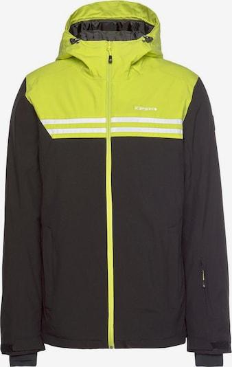 ICEPEAK Outdoor jacket 'Fremont' in Neon yellow / Black, Item view