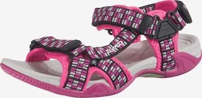 CMP Outdoorsandalen 'Hamal' in pink / schwarz, Produktansicht