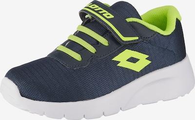 LOTTO Schuhe in navy / neongrün, Produktansicht