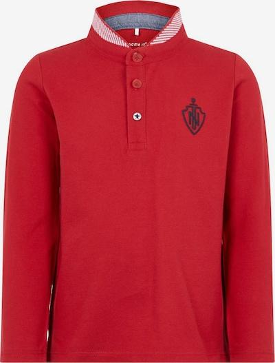 NAME IT Poloshirt in rot, Produktansicht