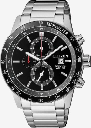CITIZEN Uhr in schwarz / silber, Produktansicht