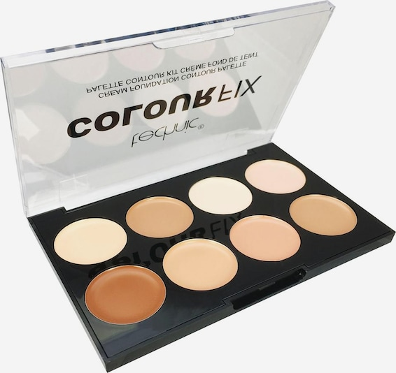 technic Contouring-Palette 'Colour Max Cream Foundation Contour' in mischfarben, Produktansicht