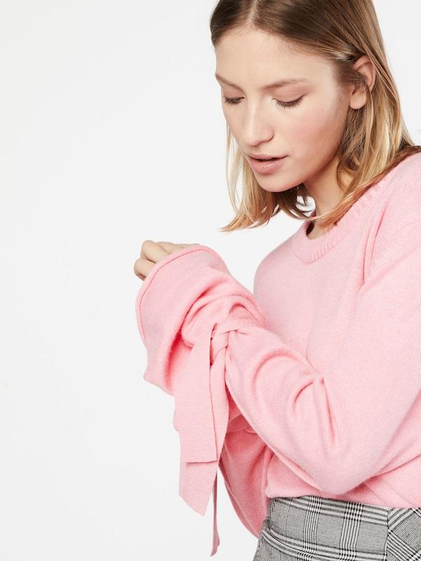 NA-KD Sweater 'Tied Sleeve'