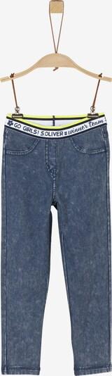 s.Oliver Leggings in blue denim, Produktansicht