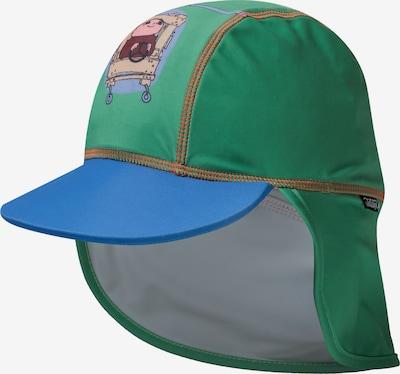 SWIMPY Cap 'Willi Wiberg' in blau / grün / mischfarben, Produktansicht