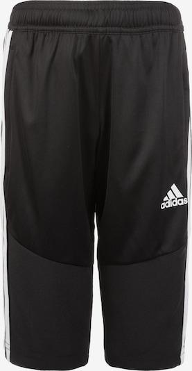 ADIDAS PERFORMANCE Sporthose 'Tiro' in schwarz / weiß, Produktansicht