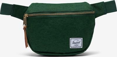 Herschel Gürteltasche 'Fifteen' in grasgrün / weiß, Produktansicht