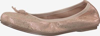 MARCO TOZZI Ballerina's in de kleur Rose-goud / Rosa, Productweergave