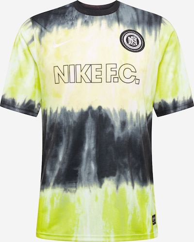 NIKE Tricot 'Nike F.C.' in de kleur Neongroen / Zwart, Productweergave