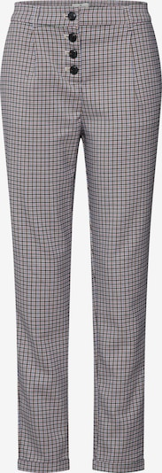 TOM TAILOR Damen - Hosen 'checked loose fit pants Trousers 1/1' in beige / mischfarben, Produktansicht