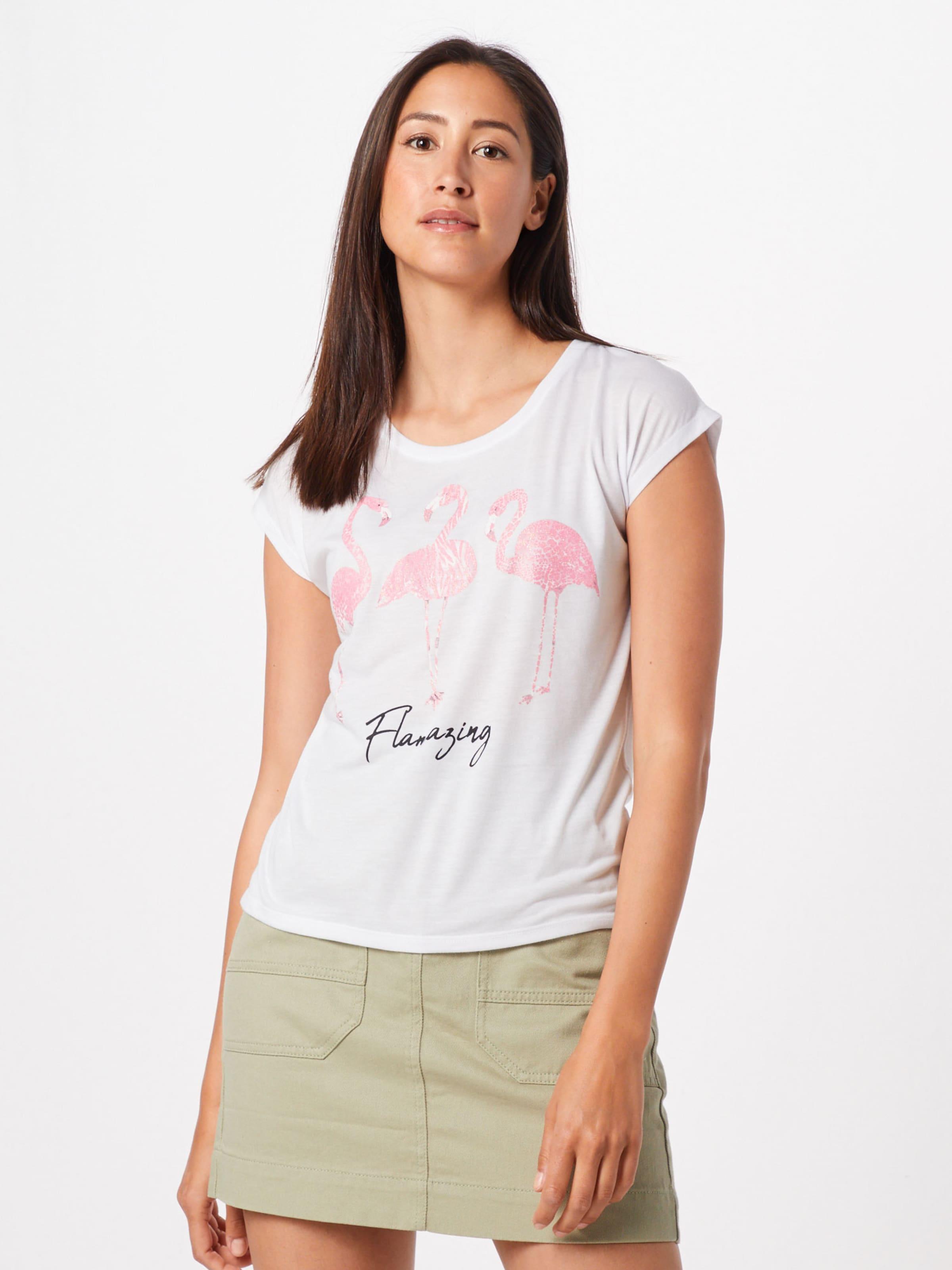 'rosie' Hailys Shirt In RosaWeiß Shirt 'rosie' Shirt RosaWeiß Hailys In Hailys mnyvNwO08