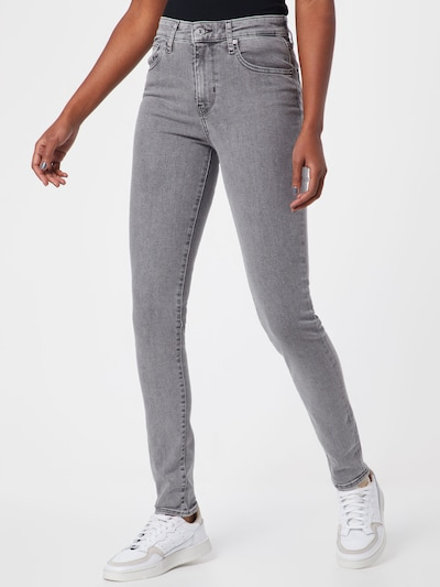 LEVI'S Jeans '721' in grey denim, Modelansicht