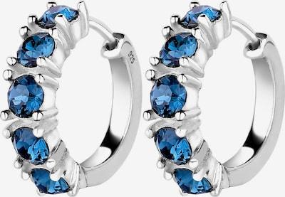 ELLI Ohrringe in blau / silber, Produktansicht