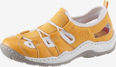RIEKER Sneaker in gelb / weiß, Produktansicht