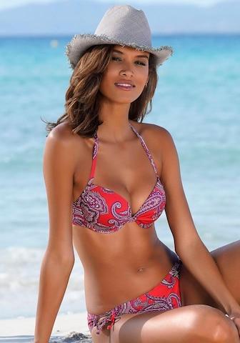 LASCANA Bikinitopp i rød