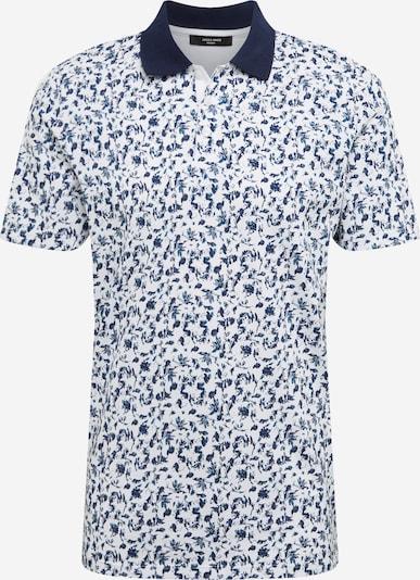 JACK & JONES T-Shirt 'Jprblackpool' en bleu / blanc: Vue de face