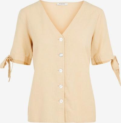 PIECES Bluse in beige, Produktansicht