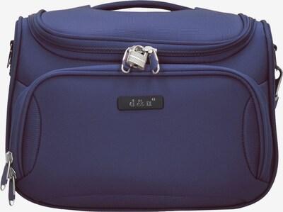 D&N Beautycase 'Travel Line 6400' in blau, Produktansicht
