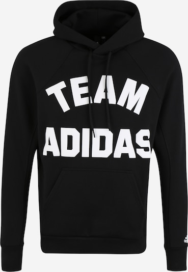 ADIDAS PERFORMANCE Kapuzensweatshirt 'VRCT' in schwarz, Produktansicht
