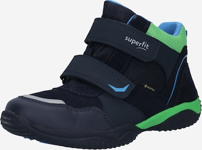 SUPERFIT Laarzen 'STORM' in de kleur Marine / Lichtblauw / Donkergroen, Productweergave