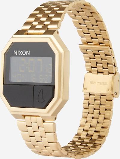 Nixon Armbanduhr 'Re-Run' in gold / schwarz, Produktansicht