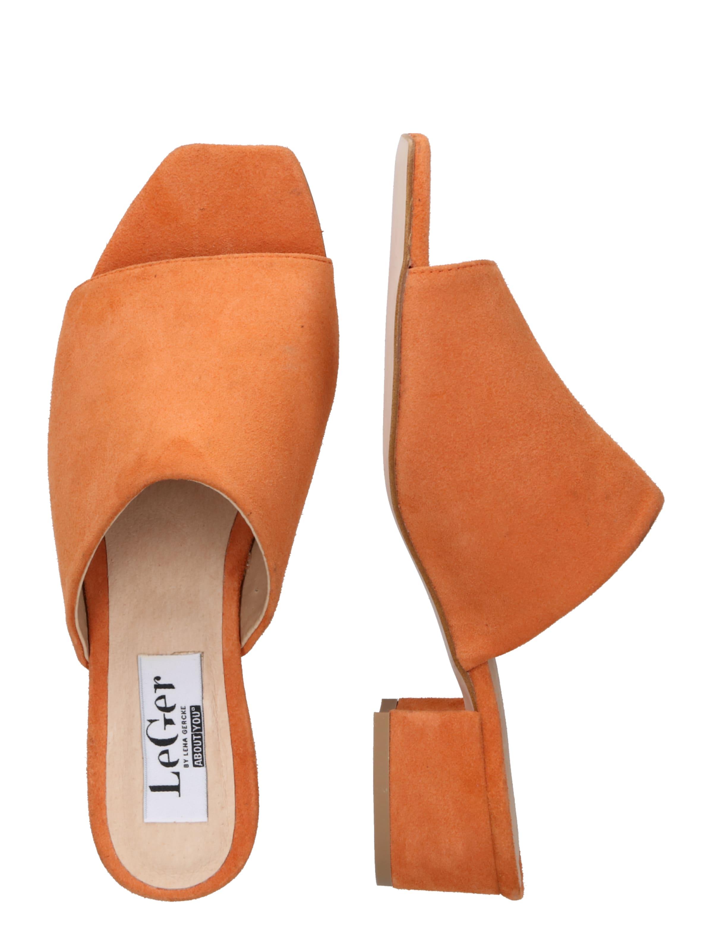 Orange 'lina' Lena By Gercke Pantolette Leger In LSqUMzpVG